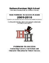 Hatboro-Horsham High School Pathway...