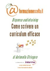 Come scrivere un curriculum efficac...