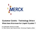 Merck Chemcials - Customer Centric:...