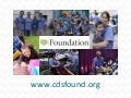 CDS Foundation Report to CDS Board of Directors