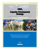 DESA's Capacity Development Strategy
