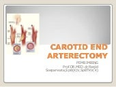 Carotid End Arterectomy