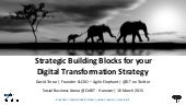 CeBIT  Social Business Arena keynote - Strategic building blocks for your Digital Transformation strategy