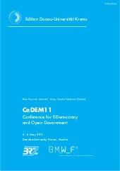 CeDEM11 - Conference for E-Democrac...