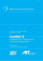 CeDEM12: Proceedings of the Interna...