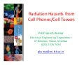 Cell phone and mobile tower radiation hazards