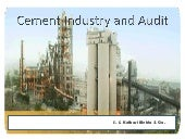 Cement Industry and Audit Presentation