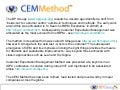 Business Process Management CEM Method (update at http://www.slideshare.net/stowers/cemmethod-walkthough)