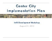 Center city implementation plan