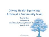 Driving Health Equity into Action a...