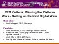 CEO Outlook: Winning the Platform Wars - Betting on the Next Digital Wave