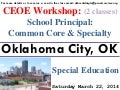 OKLAHOMA CITY, OK – CEOE WORKSHOP – MARCH 22, 2014