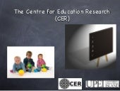 Research Interests: CER Members