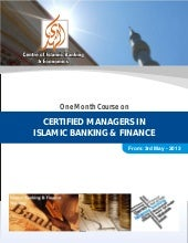 Certified managers in islamic banki...