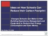 Changes Schools Can Make to Reduce ...