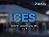 Consumer Electronics Show 2015 - Day 1