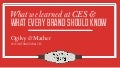 What We Learned at CES 2013 and What Every Brand Should Know - Final Recap