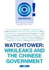 WikiLeaks and the Chinese Government