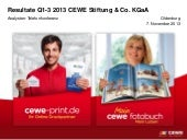 CEWE Stiftung & Co. KGaA  video