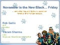 "2010 Holiday Marketing Webinar – ""November is the New Black…Friday"""