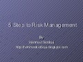 C:\Fakepath\5 Step To Risk Management
