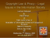 Copyright Law & Piracy in Nigeria