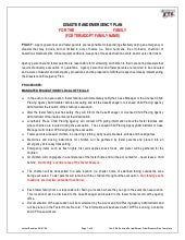 Disaster Emergency Plan Template Fo...