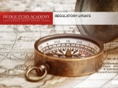 CFA regulatory presentation