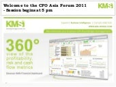 CFO Asia Forum - July 2011, Singapore