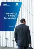 Role of CFOs in Today's Environment