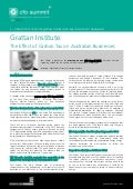 Grattan Institute: The Effect of Carbon Tax on Australian Businesses