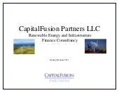 CapitalFusion Renewable Energy Proj...