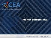 CEA French Student Visa for Study A...