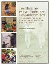 The Healthy Farms, Food and Communi...