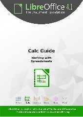 Manual de Libre Office Calc
