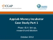 CGAP & Grameen Foundation AppLab Ca...
