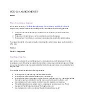 Cgd 218 assignments instructions  w...