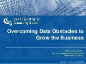 How to Overcome Data Obstacles to Grow the Business