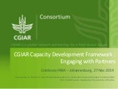 CGIAR Capacity Development Framework : Engaging with Partners
