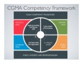 CGMA Competency Framework for CPAs and Finance / Accounting Professionals