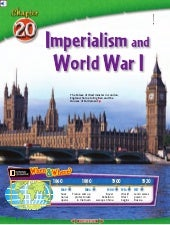 Ch. 20 Imperialism to World War I