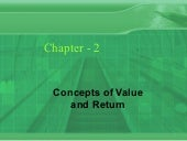 Financial Management chapter-2