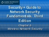 Ch06 Wireless Network Security