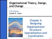 Ch06_2 - Organisation theory design...