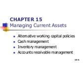 Managing current assets-CMA