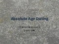 Chapter 16.3: Absolute Age Dating