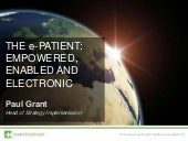 The e-Patient: Empowered, enabled a...