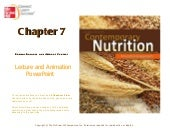Ch7 Energy Balance and Weight Control