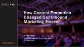 How Content Promotion Changed Our Inbound Marketing Forever
