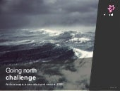 Challenge - Going north